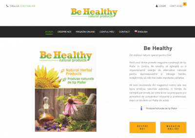 Be Healthy Magazin