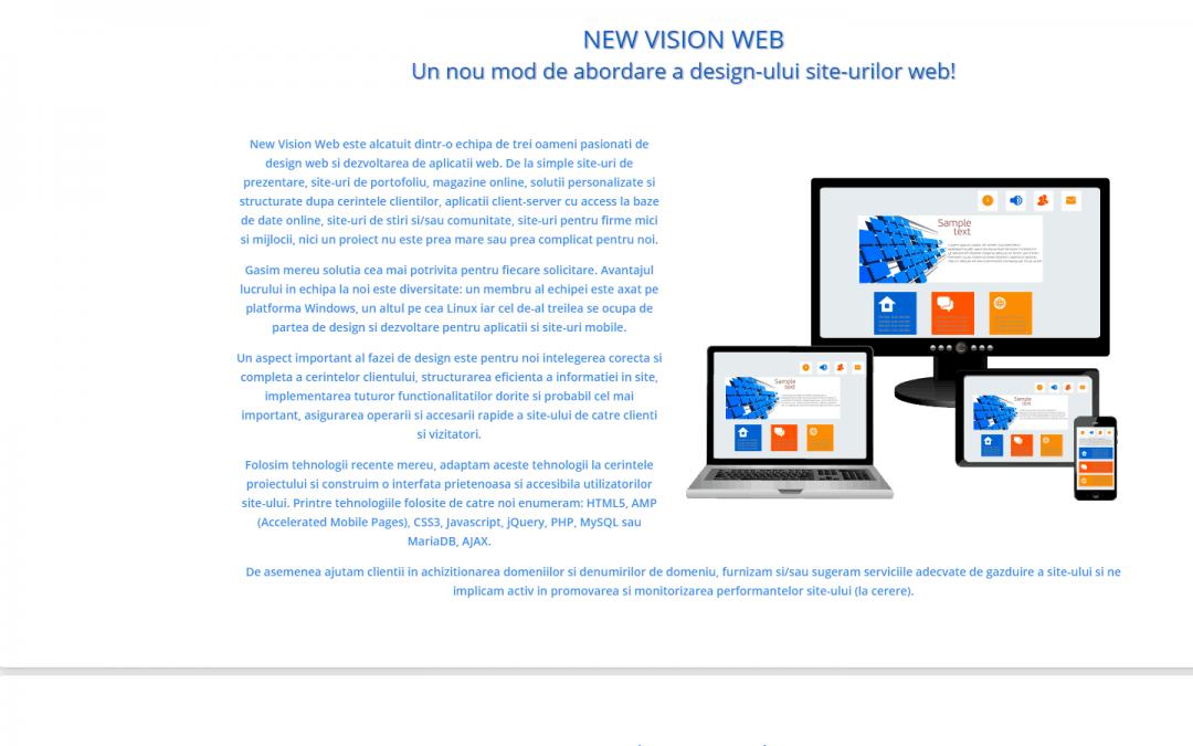 Am lansat noua versiune a site-ului nostru!
