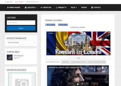 Romani in Londra